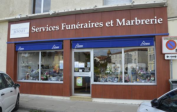 Pompes funèbres Bonnet à Brioude - Haute-Loire (43)